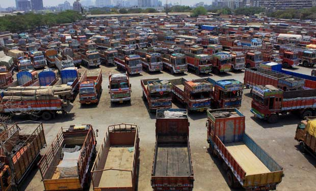 Telangana Lorry Owners Called Off Strike - Talks Success With T-Government