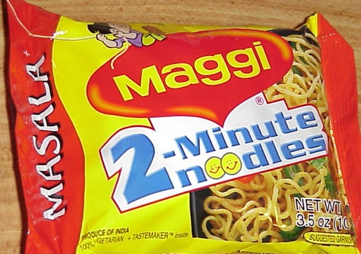 Seized Maggi samples are sent for test