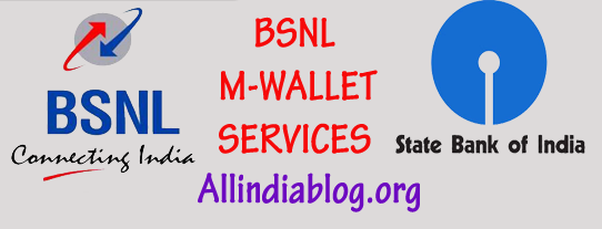 bsnl m-wallet Services with sbi