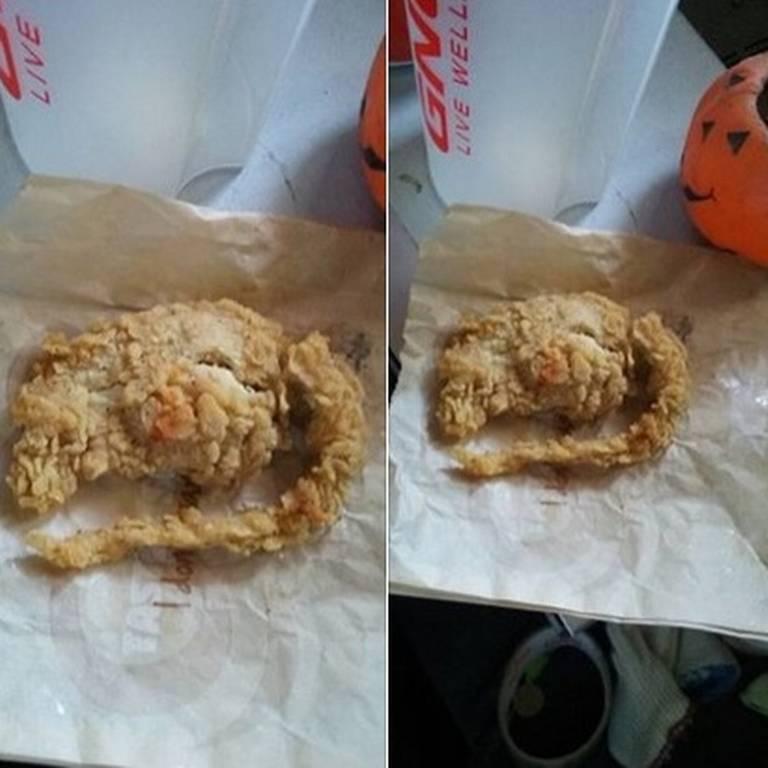 KFC Served Fried Rat Instead of Chicken Wings Goes Viral in Facebook