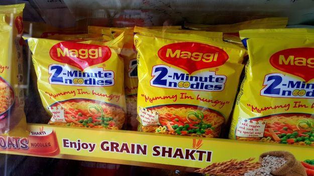 Nestle decided to takeoff the Maggi from the shelves