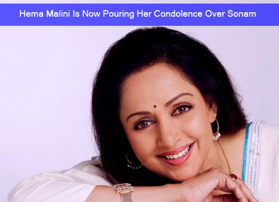 Hema Malini Is Now Pouring Her Condolence Over Sonam