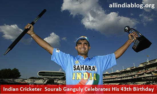 Indian Cricketer Sourab Ganguly Celebrates His 43th Birthday