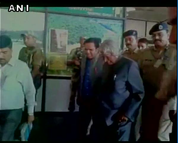 Last picture of APJ Abdul Kalam Smiling