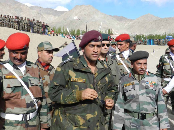 MS Dhoni Wants to work with The Indian Army