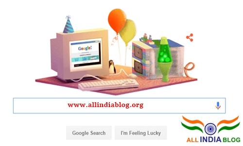 Happy 17th Birthday Wishes to Google
