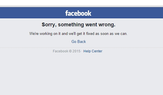 Facebook Down and users are Freaking Out on Tuesday
