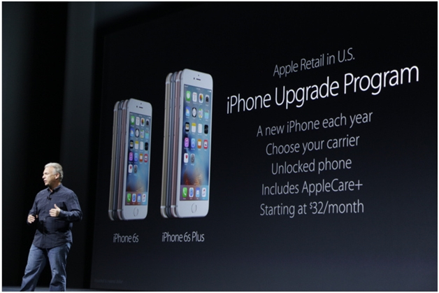 Apple iphone upgrade plan