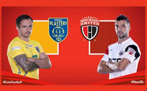 Kerala Blasters fc vs Northeast United fc live Streaming