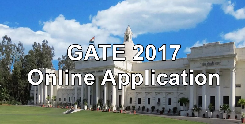 gate 2017 online application