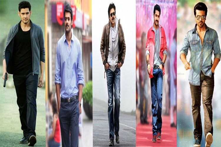 Top Hero's In Tollywood