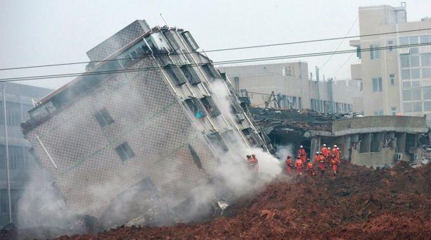 China Massive Landslide