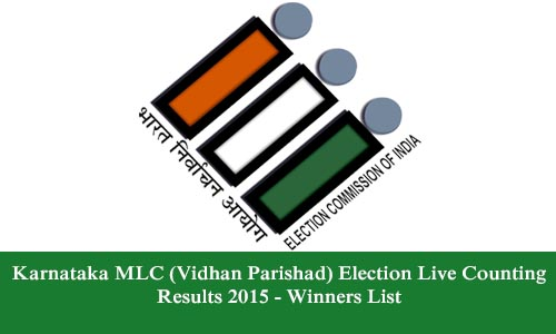 Karnataka MLC (Vidhan Parishad) Election Live Counting Results 2015 - Winners List
