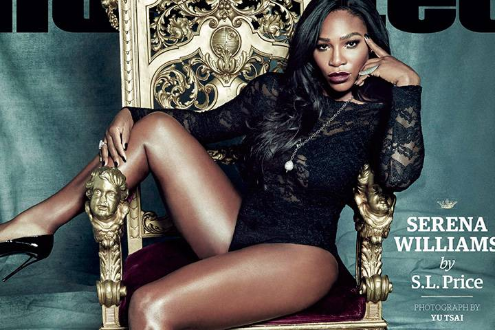 Serena Williams is the Sports Illustrated 2015 Sports Person of the Year