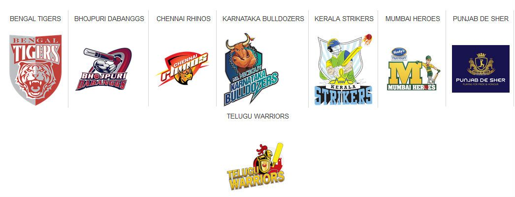 Celebrity Cricket League 2016 schedule