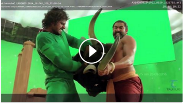 Making of Baahubali - Bull Fight Sequence