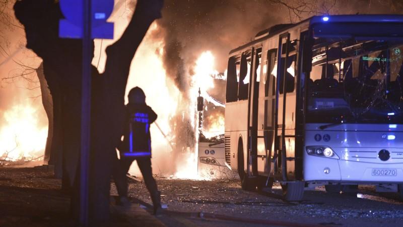 Bomb Blast in Turkey capital Ankara 28 people killed and 61 injured