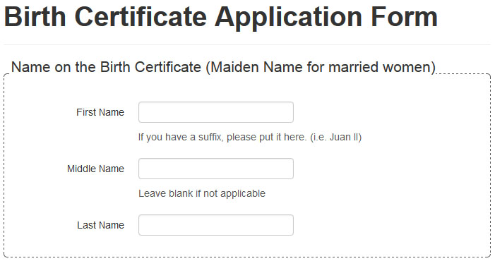How to Apply for a Birth Certificate Online & Procedure to Download