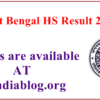 West Bengal HS Result 2017