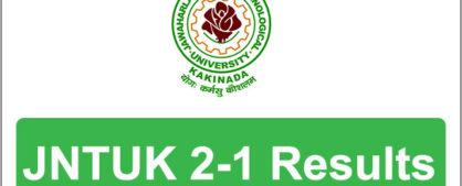 jntuk 2-1 results 2016