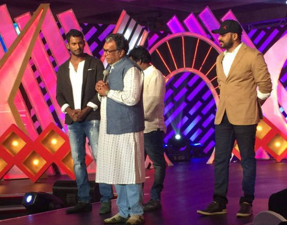 Nadigar Sangam celebrity cricket tournament