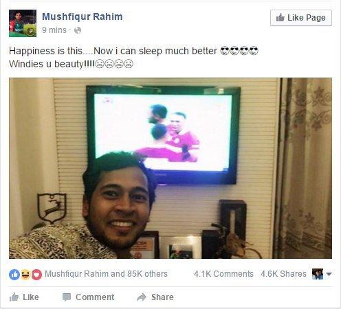 Bangladesh Keeper Mushfiqur Rahim