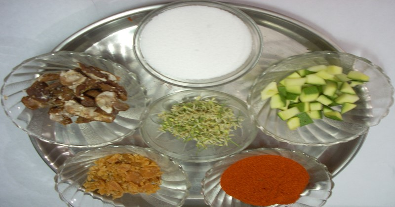 Ugadi Pacchadi preparation