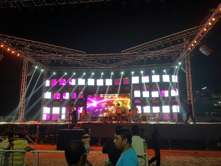 Sets of audio celebrations event