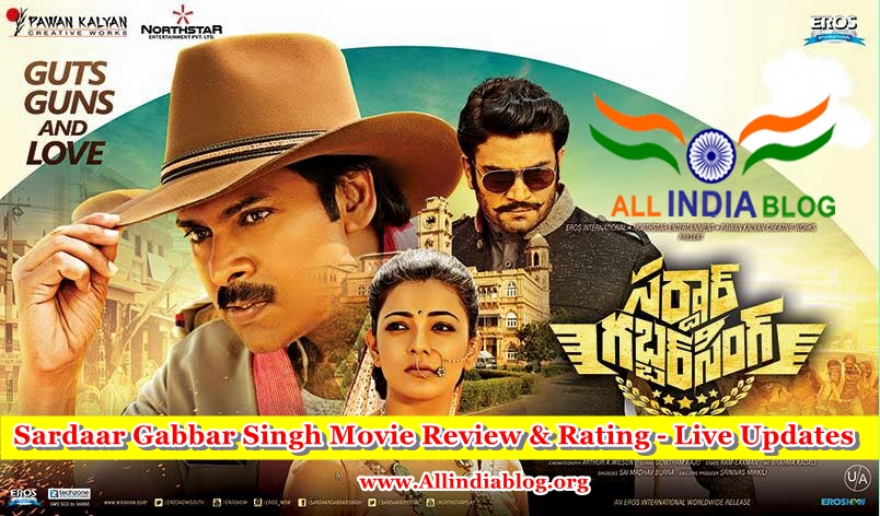 Sardaar Gabbar Singh Movie Review and Rating