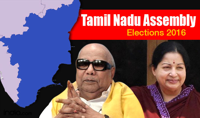 Tamil Nadu Election Results 2016