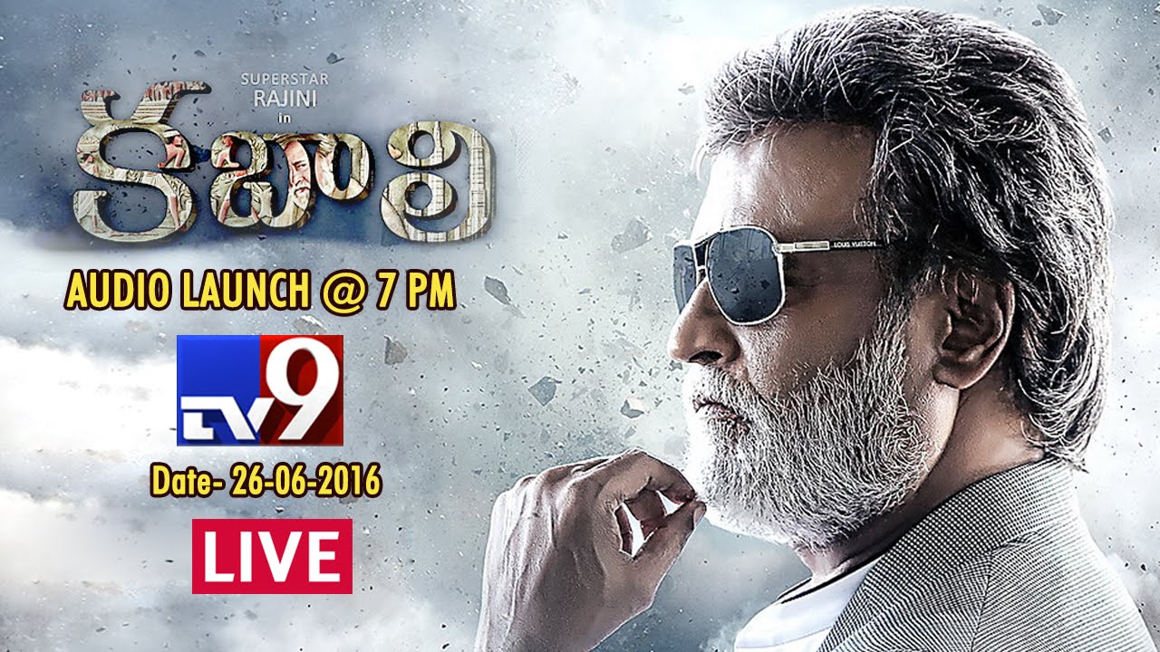 Kabali Telugu Movie Audio Launch Live