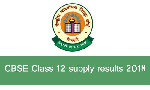 CBSE Class 12 Exam Results 2018