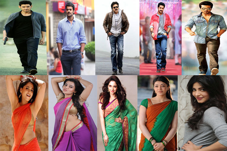 top 20 tollywood hero s heroines remuneration details 2017