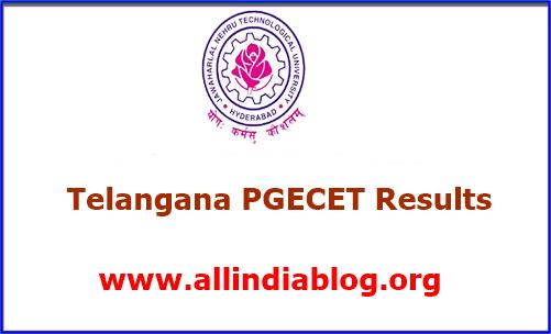 TS PGECET Result 2018