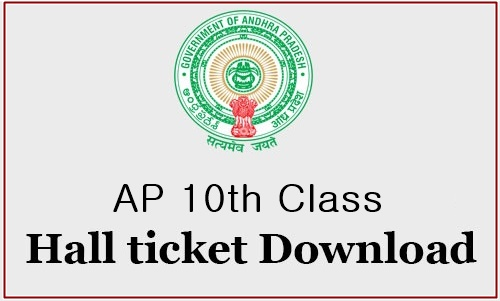 AP 10th Class 2018 Hall Tickets