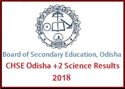 Odisha 12th Result 2018